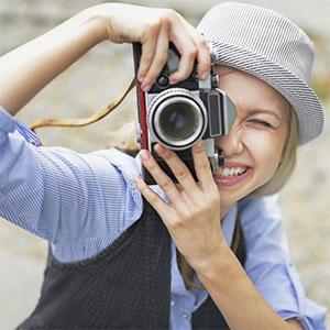 Film Photography Girl